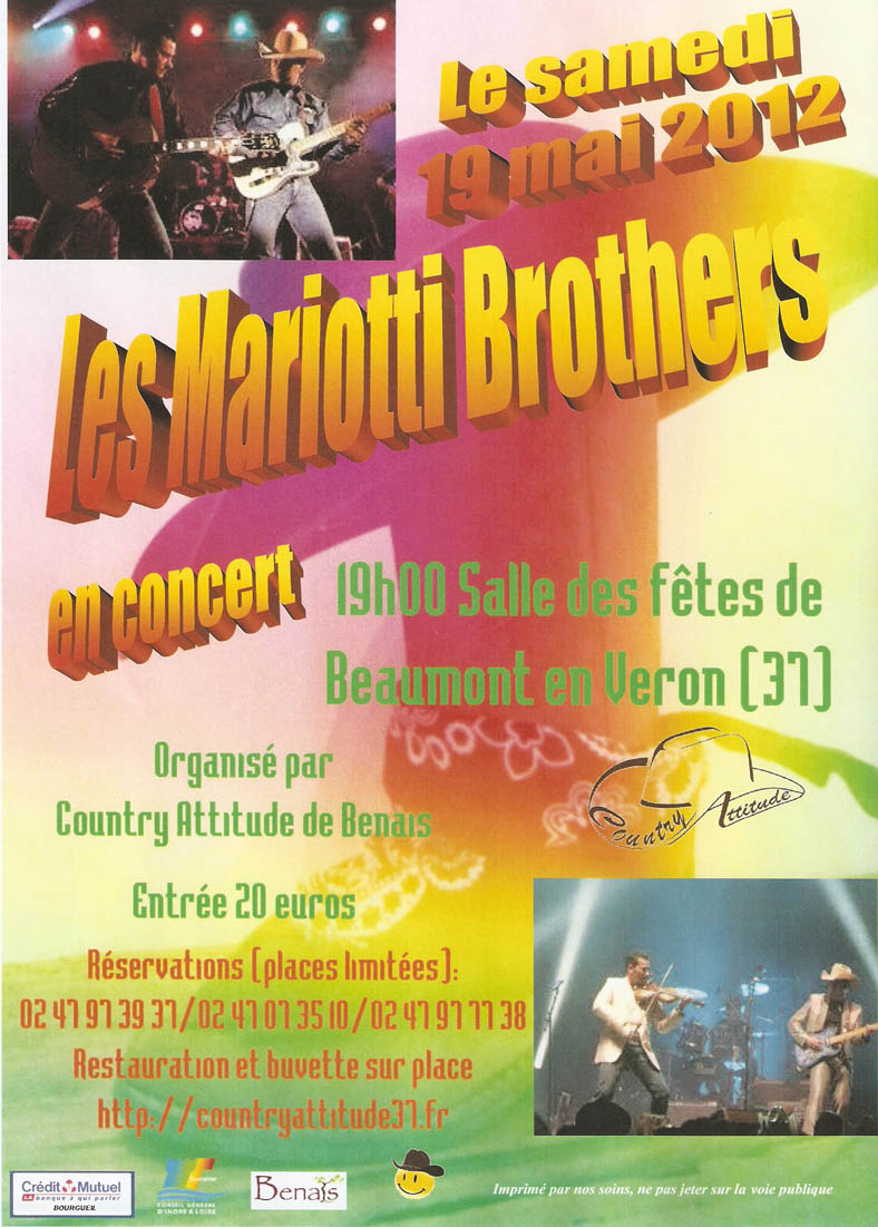 Affiche Mariotti Brothers
