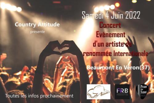 2022 06 04 BEAUMONT EN VERON (37) Concert évènement COUNTRY ATTITUDE